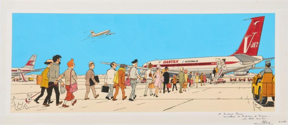 tintin-adventure-flight-714-sydney
