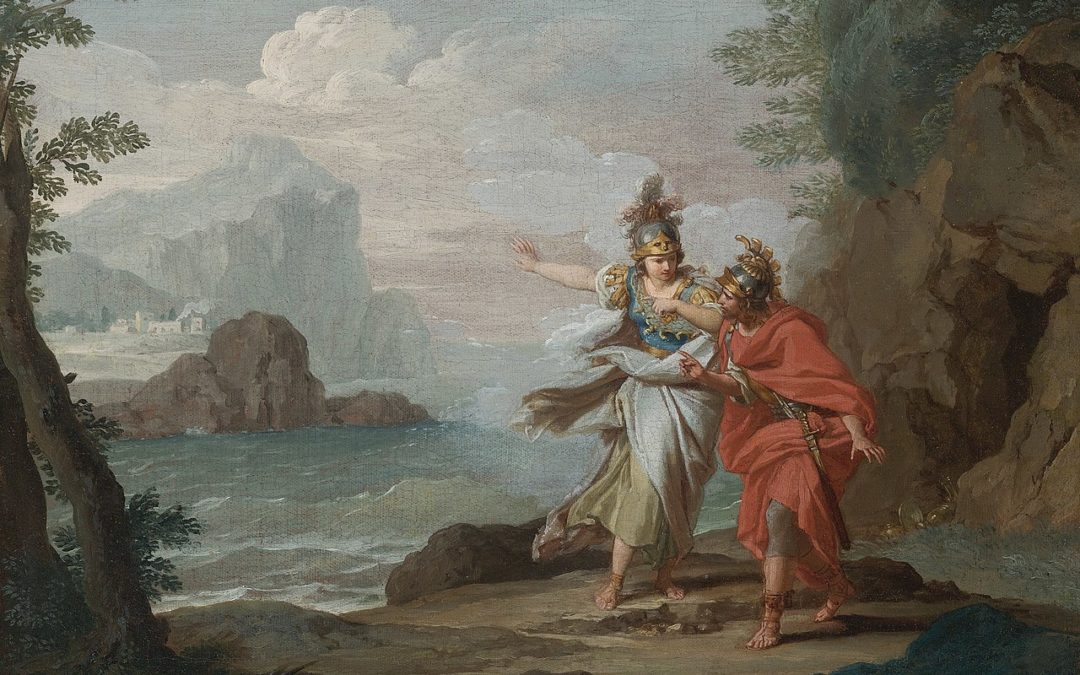 Odysseus Grins at Fate and the Gods