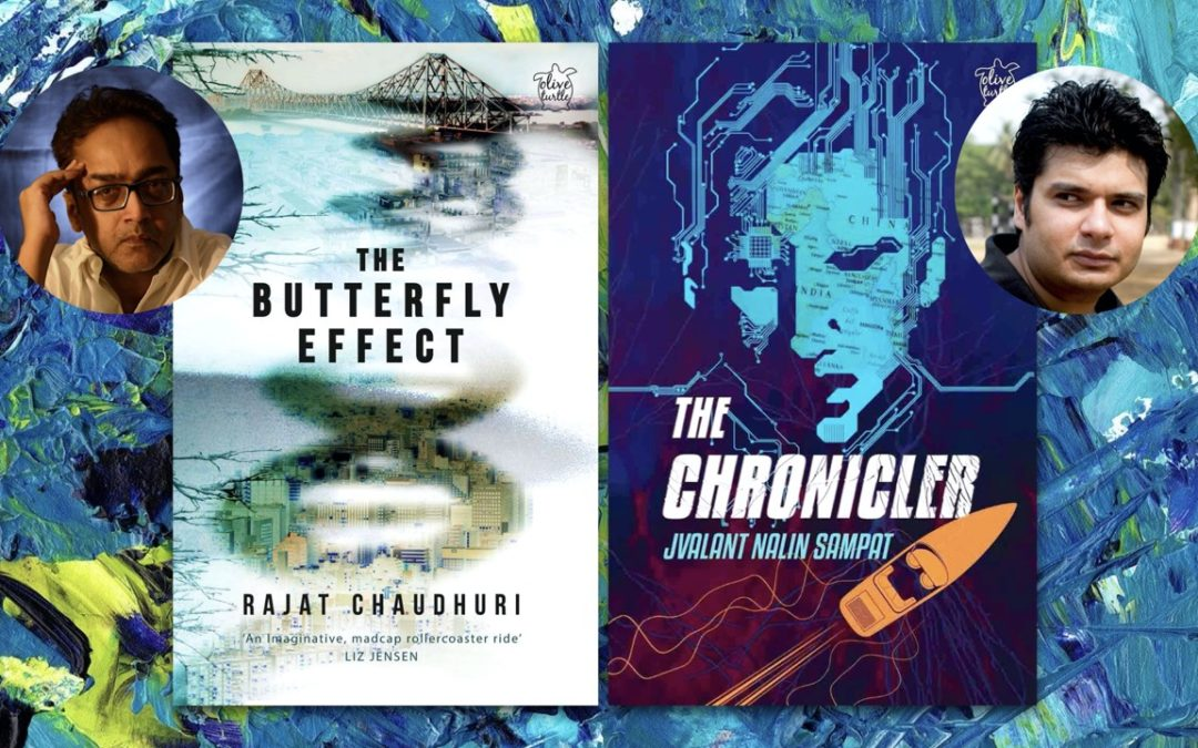 "A Literary ""Sci-Fi"" Conversation Between Two Indian Science Fiction Writers: Rajat Chaudhuri and Jvalant Nalin Sampat"